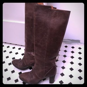J. Crew Authentic leather boots